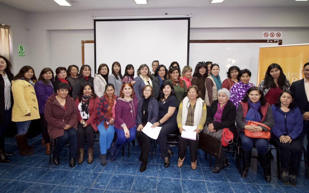 Escuela Calidad de Mujer  Tacna-2019