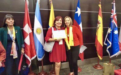 Reconocimiento Internacional a la Escuela Calidad de Mujer