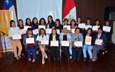 Certificación Escuela Calidad de Mujer Tacna – 2019